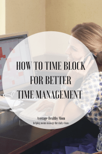how to time block for better time management